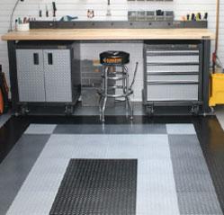 the educated garage   garage flooring & custom storage solutions